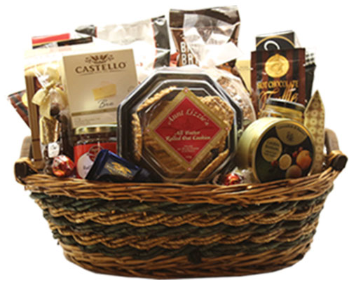 Photo: One of our beautiful Brockville gift baskets!